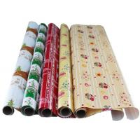 Buy Printing gift wrapping paper roll 70x200cm 80gsm art paper customized printing at wholesale prices