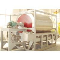 Quality Short Drying Period Screw Conveyor DryerWith 400-625 Kg / H Steam Consumption for sale
