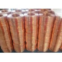 Quality Durable Flat Bare Copper Wire , Carton Special Copper Electrical Wire Mini 1 Roll for sale