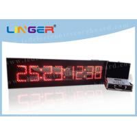 Quality 8 Digits Digital Countdown Clock Days Hours Minutes Seconds For Indoor for sale