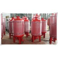 Quality Carbon Steel Diaphragm Pressure Tank Pressure Vessel For Water Booster Pump Station for sale