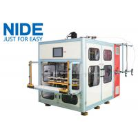 Quality Full automatic 8 Working Station Stator Coil Winding Machine for air condition motor for sale