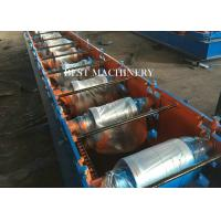 Buy cheap House Metal Roof Ridge Cap Roll Forming Machine with PLC Control from wholesalers