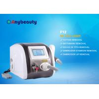 Quality Portable Q Switched Nd Yag Laser Tattoo Removal Machine Color Touch Screen CE Approved for sale