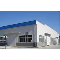 China Q235 / Q345 Workshop Steel Structure Metal Structure Buildings Environmentally Friendly for sale