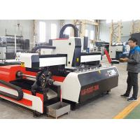 Quality Large Fiber Laser Tube Cutting Machine CNC Laser Cutter And Engraver 6000W for sale