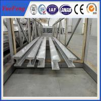 Quality Meticulous anodized aluminum extruded profile, OEM silver oxidation aluminum profile for sale