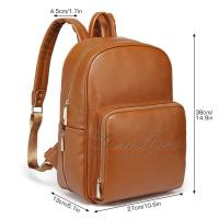 China Leather Nappy Backpack bag baby diaper organizer on sale