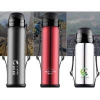 Quality Triple Wall 65mm 800ml Thermos Vacuum Insulated Bottle for sale