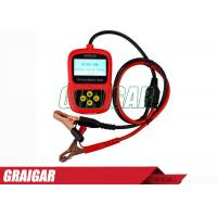 Quality Handheld Vehicle Diagnostic Tools , Car Battery Tester MICRO-100 Conductance Tester for sale