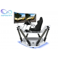 Quality Customized  Entertainment Three Screen Racing Car Simulator for sale