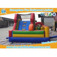 Quality Kid Climb Blow Up Bounce House Slide N Slip Durable Digital / Silk Printing for sale