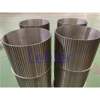Quality Sea Water Filtration Johnson Wedge Wire Screens Strong Construction ISO Certification for sale