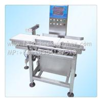 Quality Bone meal check weigher,checkweigher combination with metal detector for sale