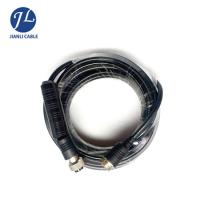 Quality Multimedia Female Thread Four Pin Metal Cable Connector Aviation Plug Shockproof for sale