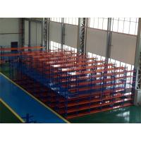 Quality Multi - Levels Heavy Duty Metal Shelving , High Capacity Industrial Steel Platforms for Storage for sale