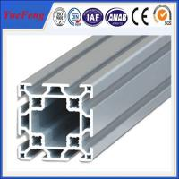 Quality t slot aluminium extrusion manufacturer, OEM high quality industrial aluminum profile for sale