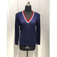 Quality Anti Pilling Women'S Pullover Sweater Tight OEM / ODM Available for sale