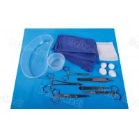 Buy cheap General Dressing Minor Procedure Pack Surgical Disposable Sterile Kit For Single from wholesalers