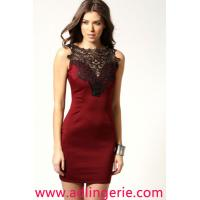 Buy cheap European and American fashion exquisite gown skirt Fence Club clothing wholesale from wholesalers