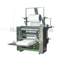 Quality Facial Makeup Square Cotton Pad Machine , Cotton Puff Automatic Wrapping Machine for sale