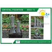 Quality Carving Granite Cast Stone Garden Fountains Indoor / Outdoor Ornaments for sale