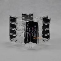 Quality Clear 4mm Acrylic Makeup Display Stand retail store For Advertisement CYMK Printing for sale