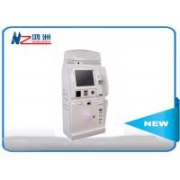 China Cash payment kiosk credit card vending machines with passport scanning function on sale