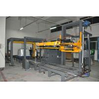 China 220V 3.5kw Horizontal Strapping Machine Arch anti - bump device with indexing head on sale