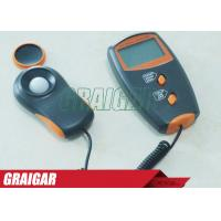 Quality 18mm LCD Electrical Instruments Digital LUX Meter LX1010BS , Max 100000 LUX Range for sale