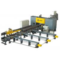 Quality High Speed CNC H Beam Drilling And Marking Machine Line For Steel Structure Fabrication for sale