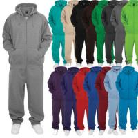 Quality Plus Size Cotton Polyester Track Suits , Blank Mens Jogger Tracksuit Multicolor for sale