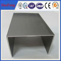 Quality aluminium extruded channel with Kinds of surface colours and good price for sale