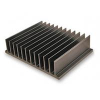 Buy Bright Black Aluminum Heatsink Extrusion Profiles / Electronic Radiateor at wholesale prices