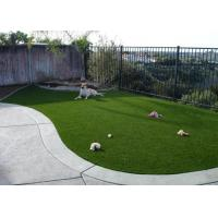 Buy 25mm Antibacterial Yarn Synthetic Turf For Pets No Harmful For Dogs 11000 Density at wholesale prices