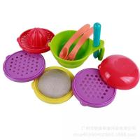 Quality Customized Color Toddler Tableware Sets 21cm X 21cm X 2.5cm Size Durable for sale