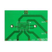 Quality Green FR4 Single Sided PCB Circuit Boards For Audio Amplifier Single Layer 1.6mm for sale
