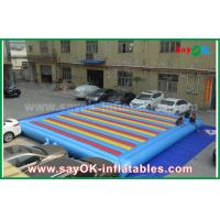 Buy cheap 0.55mm PVC Inflatable Mat Bouncer For Children Playing Sports Game from wholesalers