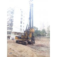 Quality Foundation Constraction Rotary Hydraulic Piling Rig Equipment with 72m/min Main Winch Line Speed for sale