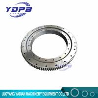 Quality VLA200944-N Four point contact slewing ring bearing external gear teeth,inner ring flanged 834x1046.1x56mm for sale