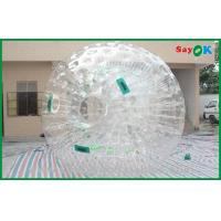 Quality Giant Human Hamster Ball Round Clear Customized For Rental for sale