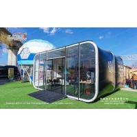 6m Modern Modular Glamping Capsule Box Hotel Tents for Coffee Shop for sale