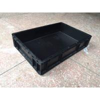 Quality conductive plastic polypropylene crate 600*400*120 for sale