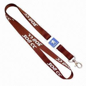 Quality Acrylic Badge Lanyard, Slim Model, Transparent for sale