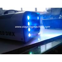 Quality Wireless Control 8*3w RGB Led 1500w Stage Fog Machine  For Party Disco X-024 for sale