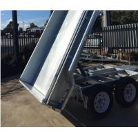 China 8x5 Galvanised Tandem Tipper Trailer 3200KG on sale