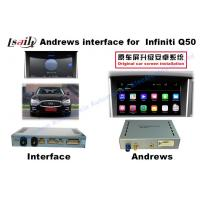Quality 2015 Or 2016 Infiniti Q50 Android Car Interface 9-12v Working Voltage for sale