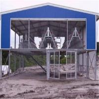 Quality Pre Engineered Structural Steel Chicken House with Cage Raising Sys Steel Pipe Truss house for sale