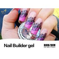 Quality Good Adhesion 3D 4D UV Nail Builder Gel LED Soak Off Gel Odorless No Buble for sale