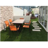 Quality 40mm U Shape Landscaping Artificial Grass For Patio And Rooftop UV resistant for sale